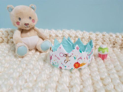 couronne bébé circus étoilé
