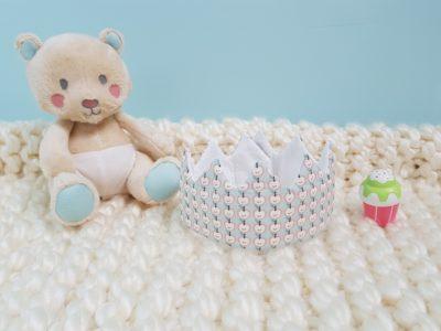 couronne bébé pommette