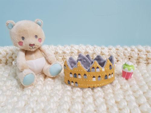couronne bébé douce maisonnette