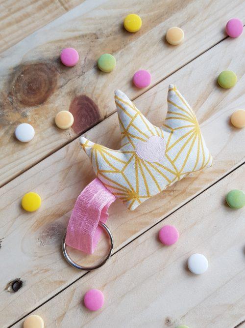 couronne à bisou soleil origamique