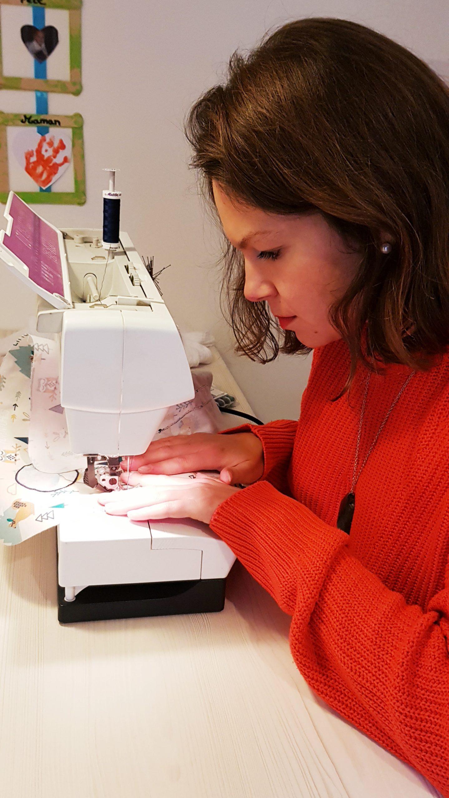 Amélie Créatrice en atelier
